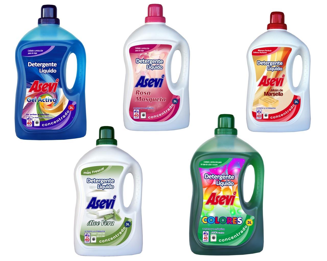 Detergente como los chorros del oro for Jabon neutro para limpiar muebles